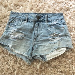 American Eagle Outfitters high rise shorts